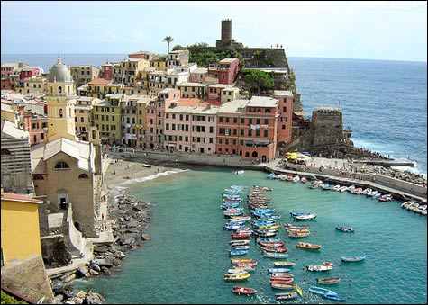 Vernazza-ocean-view