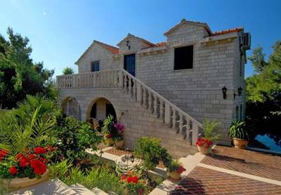 Rental villa off Croatia's Dalmatian coast