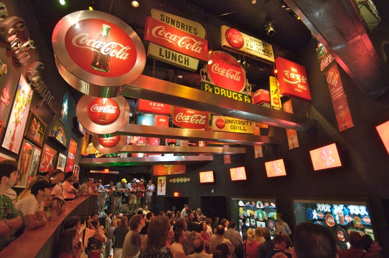 Using MARTA in Atlanta: World of Coke