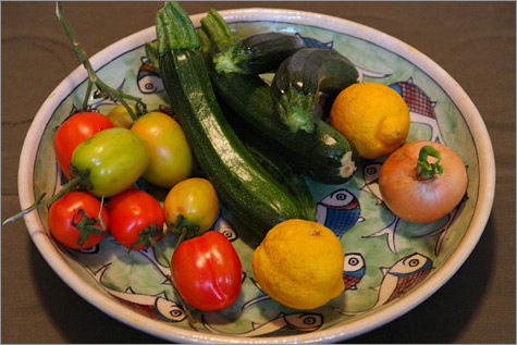 Vegetables from Cilento, Italy