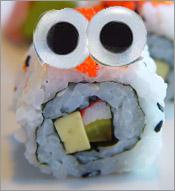Sushi eyes